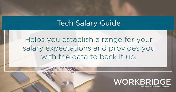 workbridge-tech-salary-guide, setting-salary-expectations, tech-careers, hiring-developers,